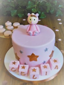 baby shower cake design celia girl decoration