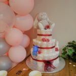 baby shower gateau de couches girl decoration